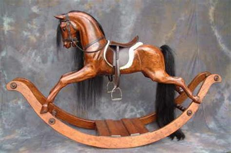 carved wood rocking horse plans woodworking projects plans