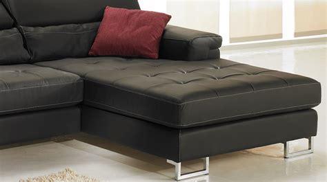 canape angle cuir noir canapé d 39 angle droit cuir noir canapé angle pas cher