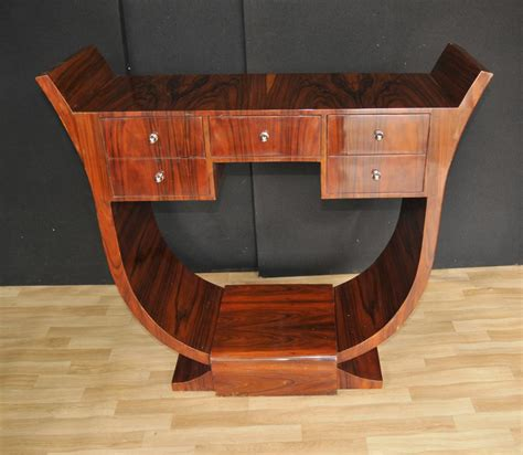 deco console table rosewood modernist 1920s furniture ebay