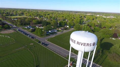 rivers mi drone photography
