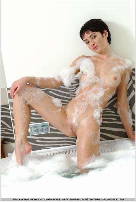 Short Haired Naked Teen In A Bubble Bath from LegalTeenLust.com