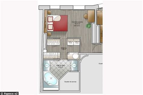 plan chambre parentale avec salle de bain et dressing 14 plans pour moderniser un appartement côté maison