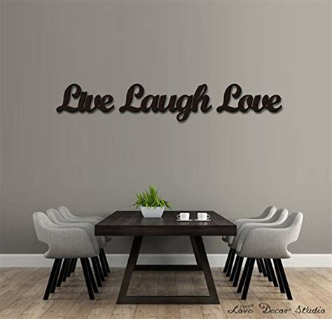 Live, laugh, love wall frame art would be nice for the living room. Amazon.com: wooden letters Art 3D Cutout 'Live, Laugh, Love' set by Love Decor Studio _ 1968 ...
