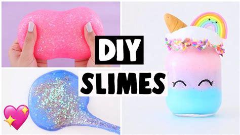 Making 6 Amazing Diy Slimes  Famous Slime Recipe
