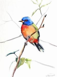 Abstract Watercolor Birds | www.pixshark.com - Images ...