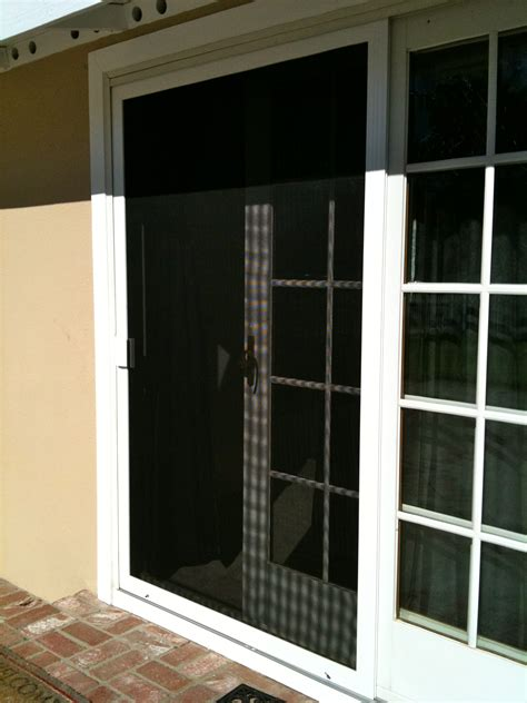 security sliding screen doors doors