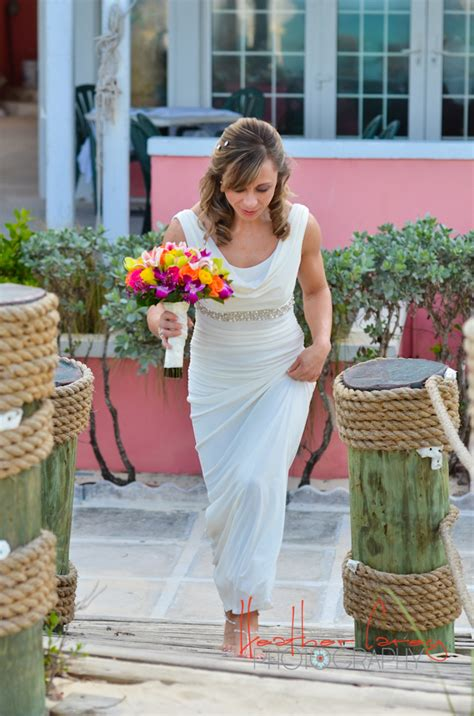 Deck Bahamas Wedding by Jeff Maggie Deck Sandyport By Bahamas Wedding