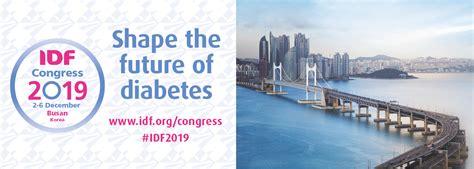 international diabetes federation idf congress busan korea
