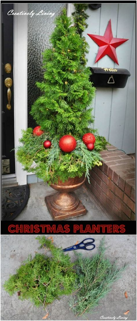creatively festive diy planters  bring  welcoming