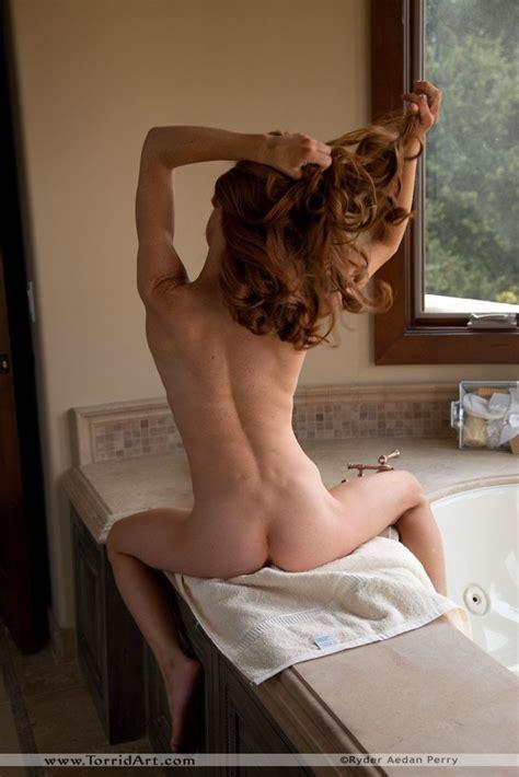 Tight And Toned Redhead Heather Nude In The Bathroom Nextdoor Mania
