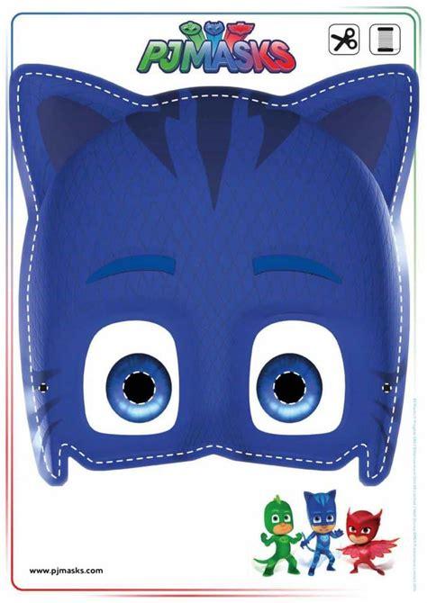 printables pj masks owlette gekko catboy masks