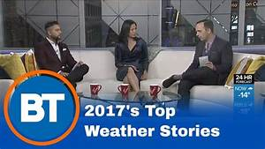 Top weather stories of the year - YouTube