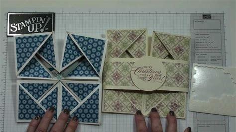 napkin fold card  dawn youtube