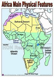 Map Of Africa Physical.Map Of Africa Physical Features Dijkversterkingbas