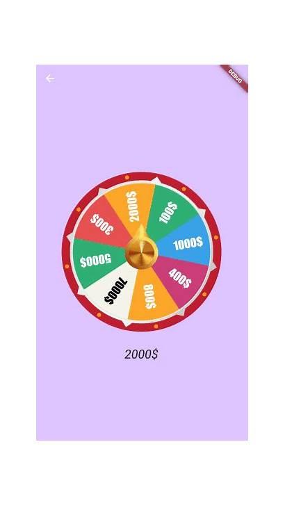 Wheel Spinning Flutter Spin Ui Package Gems