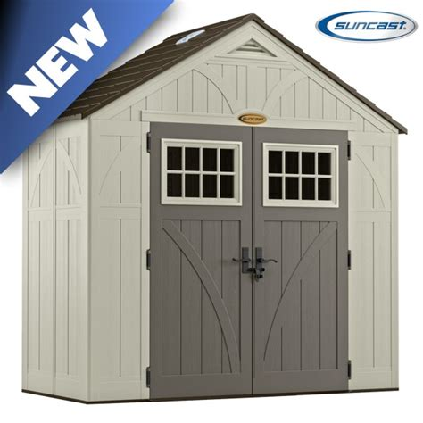 8x4 Shed Bq by Suncast Bms8400 Tremont 5 Shed 8x4