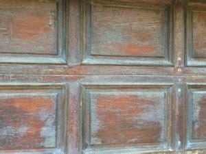 refinishing  doug fir garage door    years