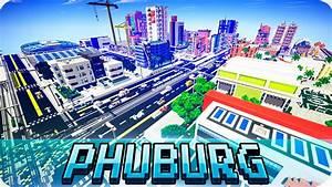 Minecraft - Modern PHUBURG CITY Map - Cinematic & Download ...