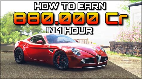forza horizon 4 credits forza horizon 4 how to earn 880 000 credits in 1 hour 1 3mio if you unlocked goliath