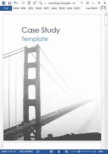 Word Document Template Download 19 Case Study Templates Ms Word How To Write Tutorial