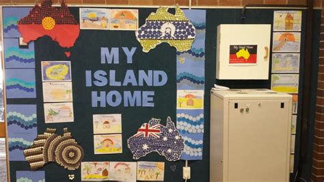 naidoc week display punch art aboriginal education