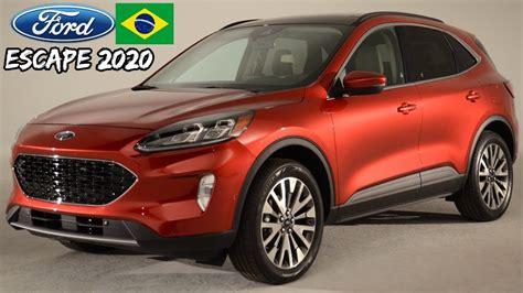 novo ford escape kuga  nova geracao vem ao brasil