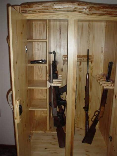 custom log gun cabinet  ka log furniture www