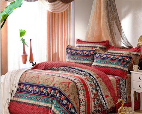 Online Get Cheap Boho Bedding -aliexpress.com Kid Bedroom White Coastal Furniture San Diego 2 Suite Hotels High End Contemporary One For Rent Tv Stand Classy Sets Best Slippers