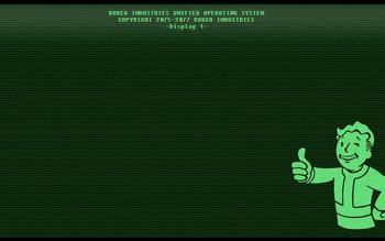 fallout  theme  windows