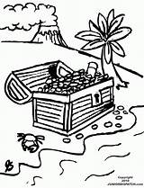 Treasure Chest Coloring Pages Outline Iditarod Clipart Drawing Library Popular Clip Coloringhome Adults sketch template