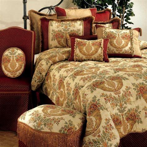 tapestry bedding sets 4pc opulent cinnamon basil gold