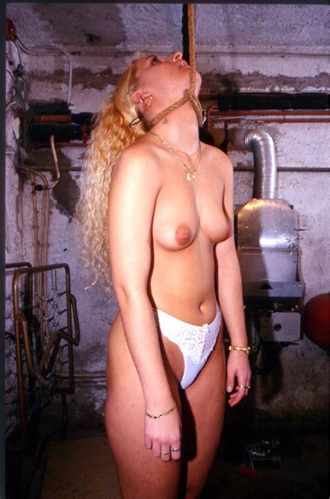 Noose Hanged Slut Naked Photo