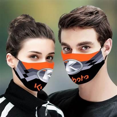 Kubota Mask Face Bengals Fabric Cloth Cincinnati