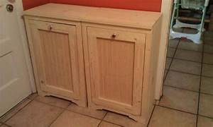 Wood Tilt-Out Trash Bins Do It Yourself Home Projects