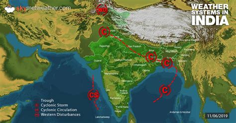 weather forecast  june   india skymet weather