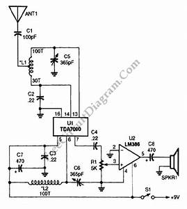 Am Radio Receiver  U2013 Circuit Wiring Diagrams