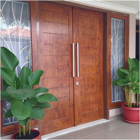 desain model pintu utama rumah minimalis terbaru