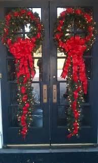 fabulous christmas wreath decoration ideas for front door embellishment trendy mods com