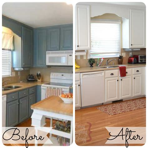 before and after pictures of kitchen cabinets painted home decor on the v side kitchen before after painted 9889