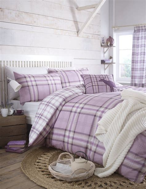 pink check quilt duvet covers curtains cushion covers