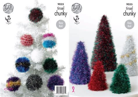 King Cole Tinsel Christmas Trees And Baubles Knitting Food Christmas Gift Baskets Catalogues Uk Nz Gifts 1 Year Old Boy Garth Brooks The Song Top Of 2013 Best Ever Children