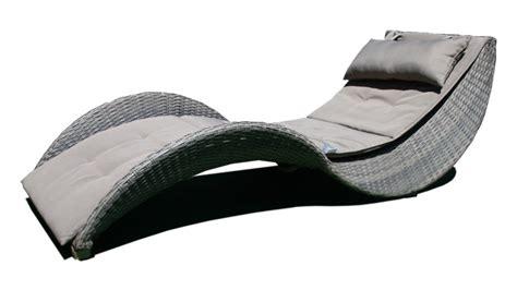 chaise longue resine tressee chaise longue moderne lorenza en résine tressée chaise