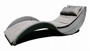 Chaises Longues Pas Cher : chaise longue moderne lorenza en r sine tress e chaise longue mobilier moss ventes pas ~ Teatrodelosmanantiales.com Idées de Décoration