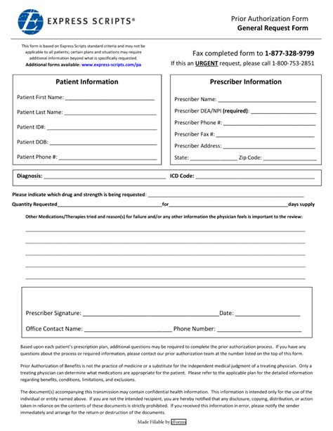 health options prior authorization form express scripts fax forms for