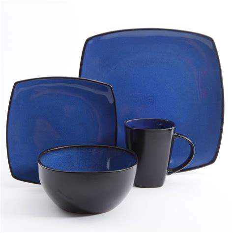 square dinnerware set gibson home soho lounge square 16 dinnerware set 4601