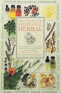 The Complete Medicinal Herbal By Ody  Penelope  Family Library 9781550134803 Hardcover