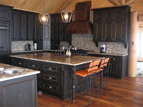 buffet cuisine noir armoire du cuisine rustique atelier meuble rustique