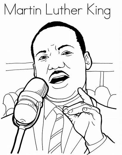 Martin King Desenho Luther Colorir Imprimir Geografia