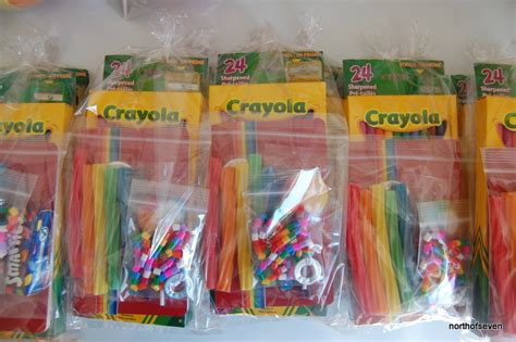 rainbow party loot bags northstory