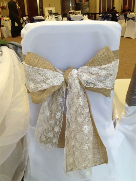 wedding chair sashes hessian 9 best images about hessian ideas on pinterest lace